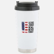 9 11 Remembering Stainless Steel Travel Mug