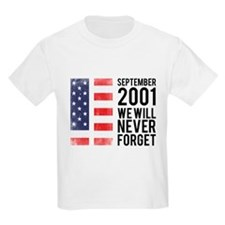 9 11 Remembering T-Shirt