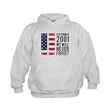 9 11 Remembering Hoodie