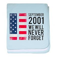 9 11 Remembering baby blanket