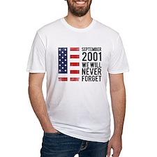 9 11 Remembering Shirt