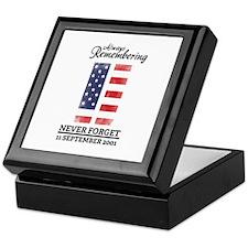9 11 Remembering Keepsake Box