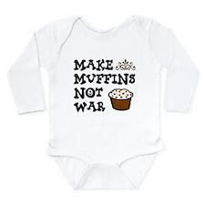 'Make Muffins' Long Sleeve Infant Bodysuit