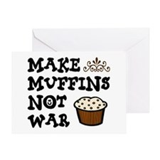 'Make Muffins' Greeting Card