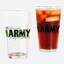 Daughter Hero3 - ARMY Drinking Glass
