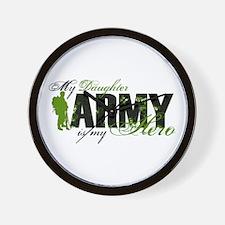 Daughter Hero3 - ARMY Wall Clock