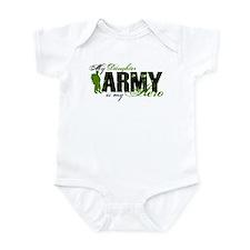 Daughter Hero3 - ARMY Infant Bodysuit