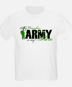 Daughter Hero3 - ARMY T-Shirt