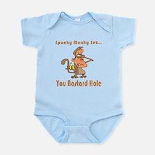 You Bastard Hole Infant Bodysuit