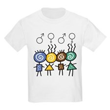 Colorful Foursome T-Shirt