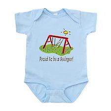 Proud to be a Swinger! Infant Bodysuit