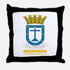Bayamon COA Throw Pillow