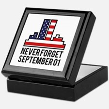 9 11 Never Forget Keepsake Box