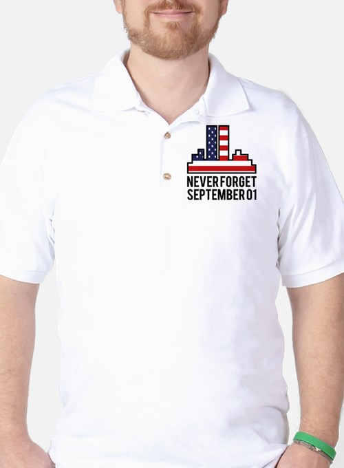 9 11 Never Forget T-Shirt
