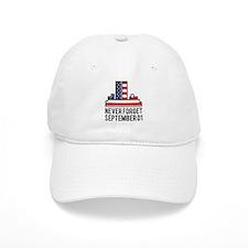 9 11 Never Forget Baseball Cap
