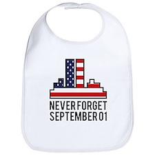 9 11 Never Forget Bib