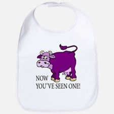 Purple Cow Bib