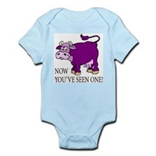 Purple Cow Infant Creeper