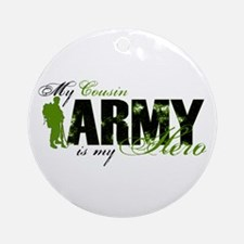 Cousin Hero3 - ARMY Ornament (Round)