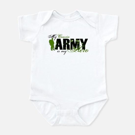 Cousin Hero3 - ARMY Infant Bodysuit