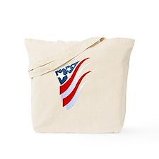 Stripes N Stars Tote Bag