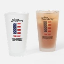 9-11-2001 Drinking Glass