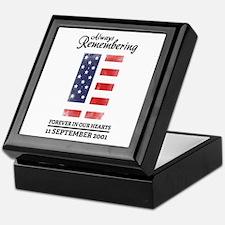 9-11-2001 Keepsake Box