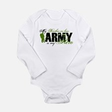 Brother-in-law Hero3 - ARMY Long Sleeve Infant Bod