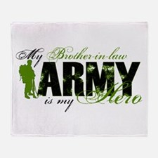 Brother-in-law Hero3 - ARMY Throw Blanket