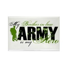 Brother-in-law Hero3 - ARMY Rectangle Magnet