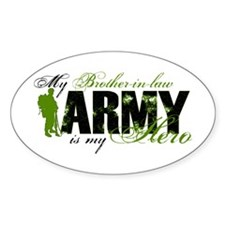 Brother-in-law Hero3 - ARMY Decal