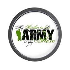 Brother-in-law Hero3 - ARMY Wall Clock