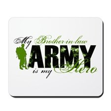 Brother-in-law Hero3 - ARMY Mousepad