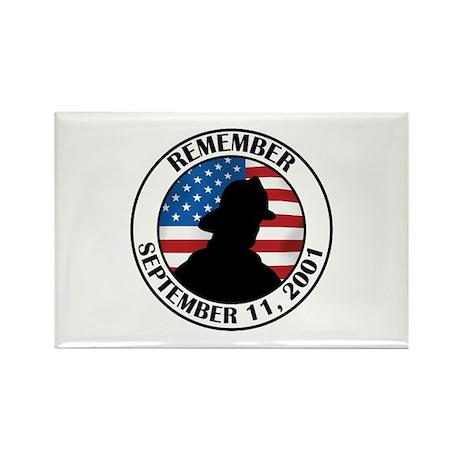 Remember 9 11 Rectangle Magnet