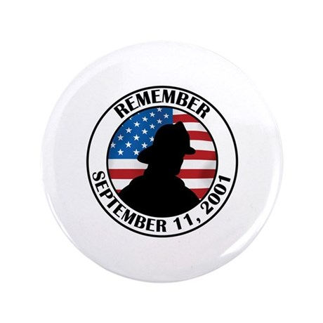 "Remember 9 11 3.5"" Button (100 pack)"