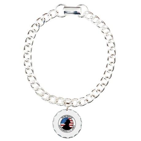 Remember 9 11 Charm Bracelet, One Charm