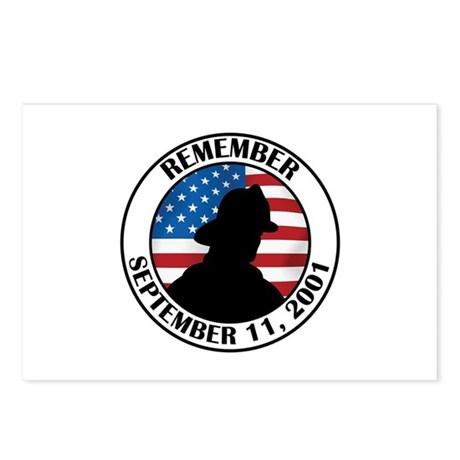Remember 9 11 Postcards (Package of 8)