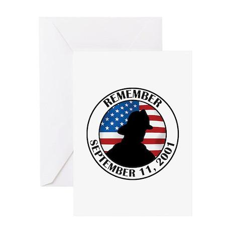Remember 9 11 Greeting Card