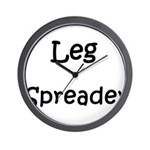 Leg Spreader Wall Clock
