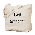 Leg Spreader Tote Bag