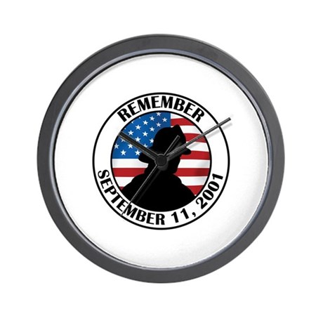 Remember 9 11 Wall Clock