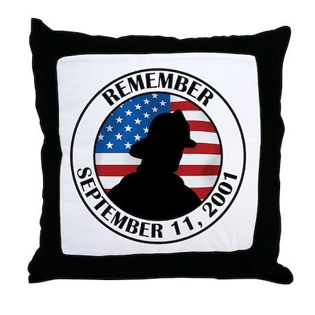 Remember 9 11 Throw Pillow