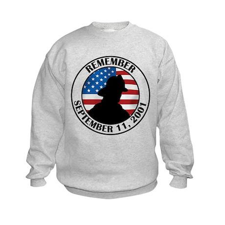 Remember 9 11 Kids Sweatshirt