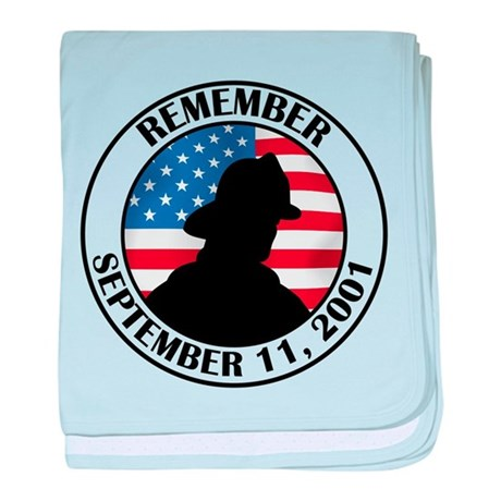 Remember 9 11 baby blanket