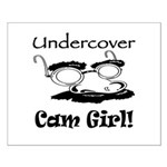 Undercover Cam Girl Small Poster