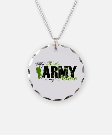 Brother Hero3 - ARMY Necklace Circle Charm
