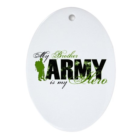 Brother Hero3 - ARMY Ornament (Oval)