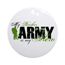 Brother Hero3 - ARMY Ornament (Round)