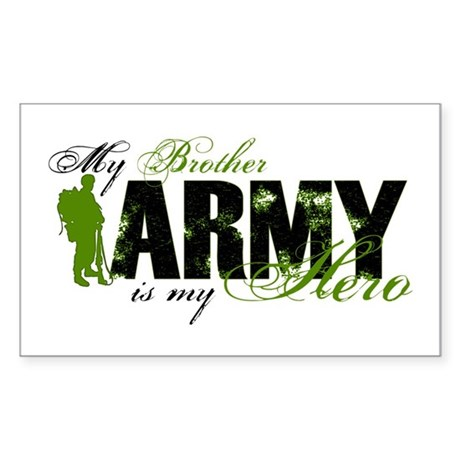 Brother Hero3 - ARMY Sticker (Rectangle)