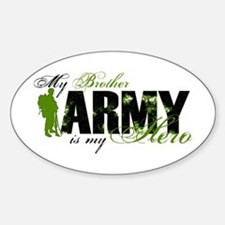 Brother Hero3 - ARMY Sticker (Oval)
